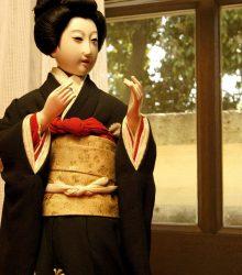 島田髷都人形
